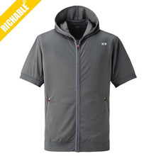 Autumn mens custom thick wholesale plain hoodie jackets