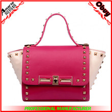 2015 Top Grade Affordable Price Ladies Genuine Leather Handbag