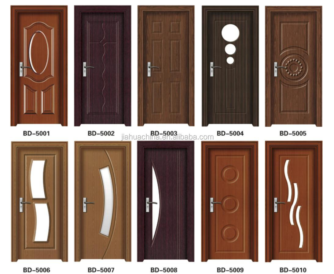 Most popular simple design wood panel door design made in for Simple wooden front door designs