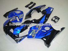 Motorcycle fairing kit body work for CBR250R MC19 1988-1989 MC19 BLUE&BLACK