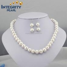 2015 48 9mm natural freshwater pearl set design