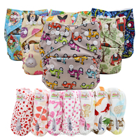Ohbabyka New Reusable One Size Pocket Style Cloth Diapers Manufacturer