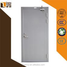 Steel swing hot selling security door,main door design,commercial double steel glass doors