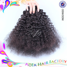 Cheap full head kinky curly hair extensions,new afro kinky curly virgin hair extensions for black women