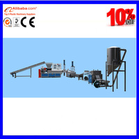 FLAKES /SCRAPS recycling plastic pelletizing machine suppliers