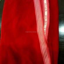 44 inches plain dyed 9000 micro velvet