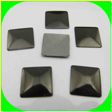 2015 new hot sale 10mm flat back square hot-fix nail head for furniture and fabric decoration