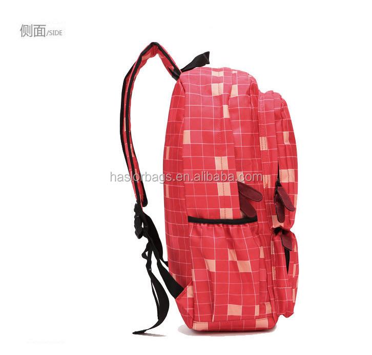 Hot vente avec des prix d'usine moderne sac d'école pour les filles