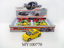 metal pull back Beetle car ,die cast model miniature car collection