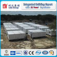 Temporary Modern Prefabricated Container Houses Economy Container Houses for Labor Camp Office