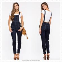 donna di porcellana di alta moda di qualità denim globale skinny jeans con tasche