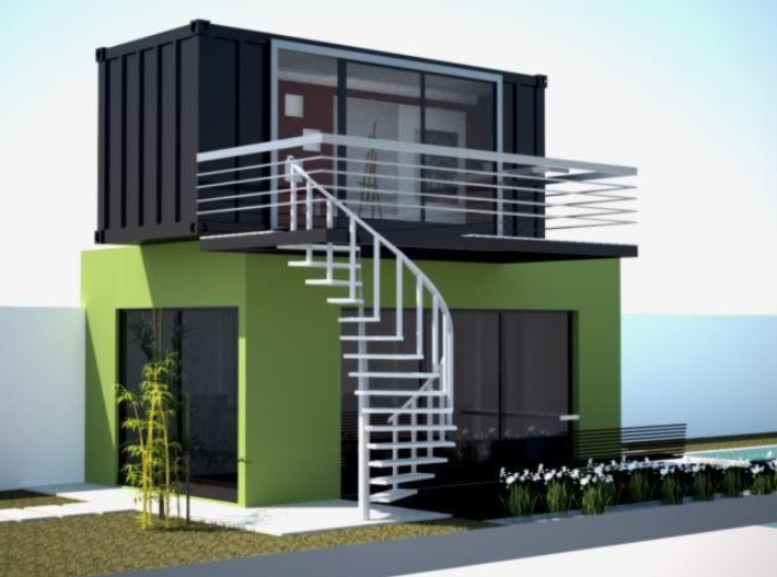 Container house thailand joy studio design gallery for Modern box house design