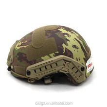 Fast Release Helmet Bullet Proof Helmet NIJ IIIA Level PE/Kevlar Military Bullet Proof Helmet