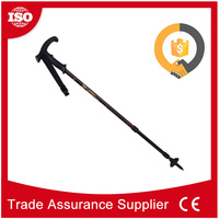 CHS123 With 17 years experience rubber handle telescopic aluminium7075 walking stick parts