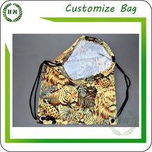Hongway wholesale Drawstring Promotional nylon /polyester /cotton laundry bag, dirty laundry bag
