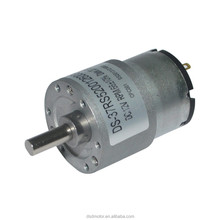 37mm 12V 24V DC Electric Motor with Gear Reduction