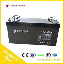 solar battery 200 ah gel battery 12v 200ah