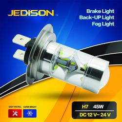 45w Xenon White canbus h7 car led fog light