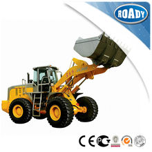 High work-efficiency used tractors with loader and backhoe