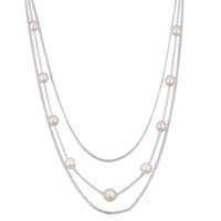 2016 Ali Express Trendy Imitation Made in China Beaded Elegant Pearl Necklace for Woman