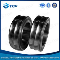 tungsten carbide rolling rings for ribbed or smooth reinforcing steel wire
