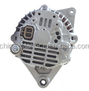 Mass market long stator alternators