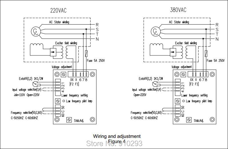 2018 stamford sx460 avr for diesel generator sx460 avr avr for rh dhgate com PX-350 AVR Regulator Wiring SX440 Stamford