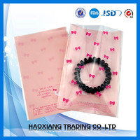 modern design small plastic bags for jewelry