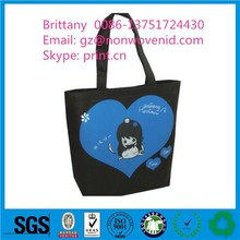 Wholesale high quality folding non-woven shopping bags