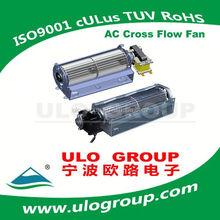 AC cross flow fan 60 serie(AC motor)