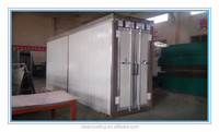 Gas industrial oven infrared heater for spray booth