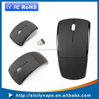 Foldable Wireless Mouse 2.4Ghz Wireless Mobile Optical Mouse with 6 Buttons, 3 DPI Levels, USB Wireless Receiver