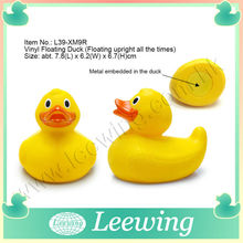 Multicolor Race Small or Floating Large Plastic Duck