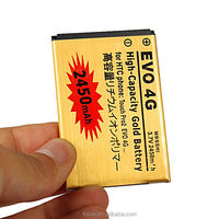 best quality best price li-ion cellphone battery for HTC EVO 4G with 2450mah