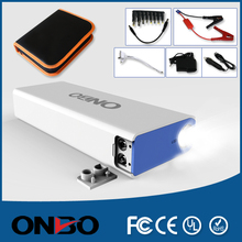 Newest 2015 Hot Products Dual USB Emergency Portable Car Battery Jump Starter for Diesel Car