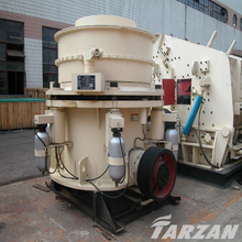 Durable building material crusher for road construction