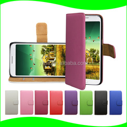 Cell Phone Case Flip Stand PU Leather Case for Lenovo S660