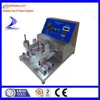 Alcohol Rubber Abrasion Testing Machine