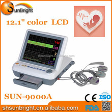 CE And FDA quality sunbright baby ultrasound machine fetal/maternal Monitor