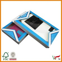 Mobile phone plastic shell packing box