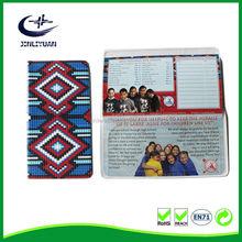 Fold soft menu plastic pvc card Calendar holder