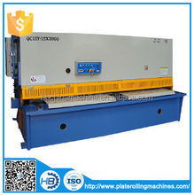 metal Hydraulic Swing Beam Shearing Machine QC12Y-4X10000,metallic board trimming shears,metallic plate mechanical shear