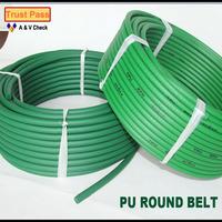 Fo shan manufacture high quality very rough pu round belt