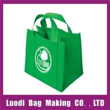 Wholesale reusable promotional trendy non-woven bag,foldable non woven bag,pp non woven bag