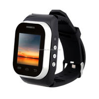 Factory offer slide type low cost watch mobile phone with mp3 mp4 camera FM Radio Bluetooth Function dual sim dual standby