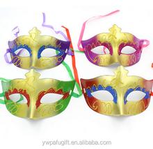 Halloween masquerade masks half face venice mask