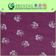 2014 NEW DESIGN viscose discharge printed fabric with high quality for garments