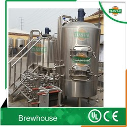 Home/pub beer brewing equipment with CE/UL