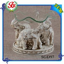 sgd97 antico elefante titolare resina candela inserire