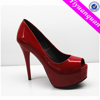 red and black women dress shoes ladies shoes with red soles